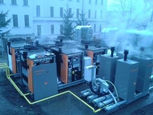 Automatyka węzłów cieplnych w dwóch budynkach liceum Zgromadzenia Sióstr Niepokalanek w Wałbrzychu (grudzień 2014-styczeń 2015)