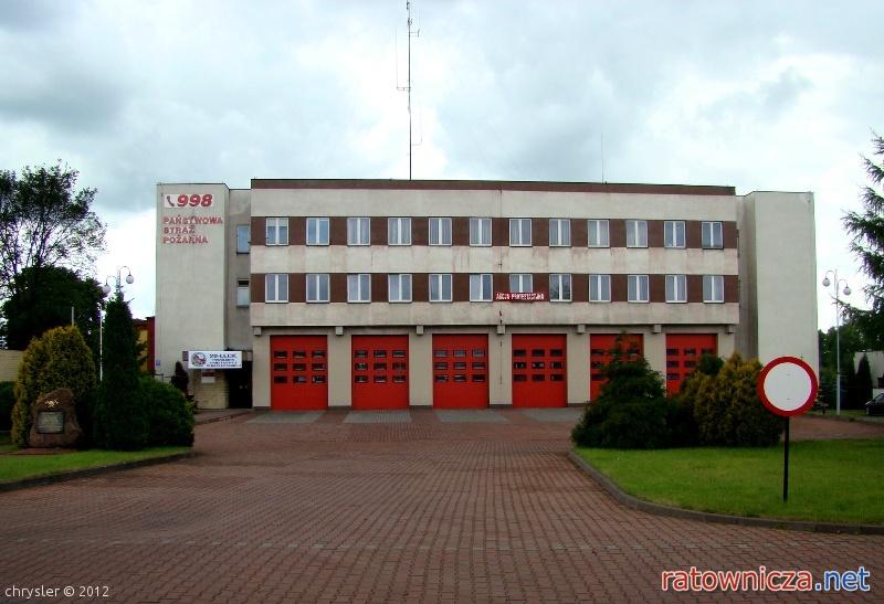 Automatyka źródła ciepła w siedzibie Komendy Powiatowej Państwowej Straży Pożarnej w Łasku (październik 2015)