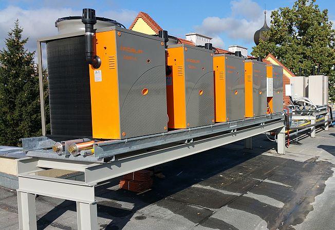 Automatyka źródła ciepła i węzła cieplnego w Szkole Podstawowej w Krosnowicach i Ołdrzychowicach Kłodzkich (październik 2015)