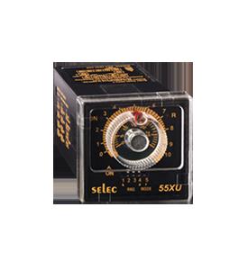 55XU – Przekaźnik czasowy z nastawą potencjometryczną
