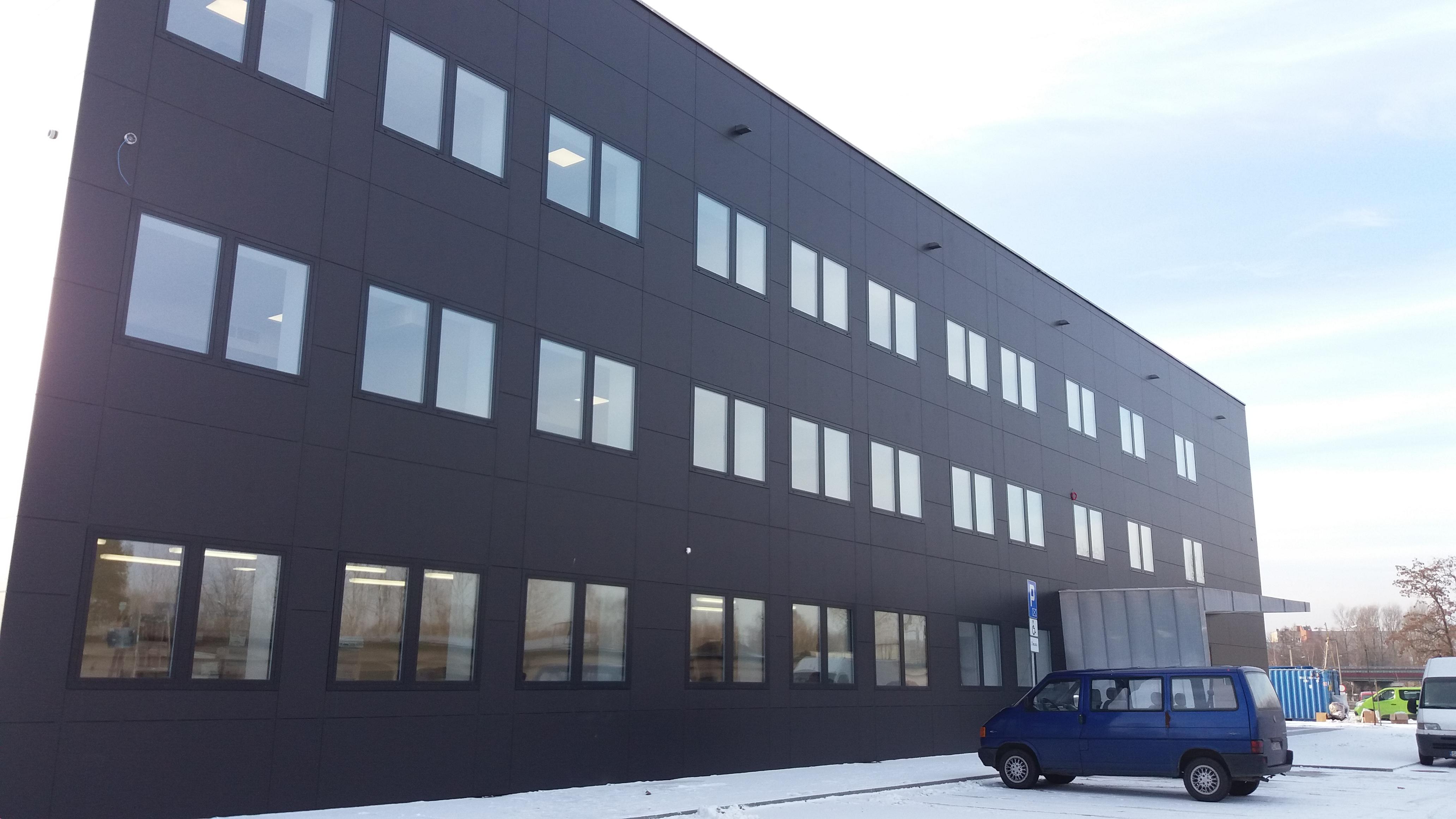 Automatyka źródła ciepła i chłodu w budynku biurowym Przedsiębiorstwa Miejskiego MZUM.PL S.A. w Dąbrowie Górniczej (listopad 2016)